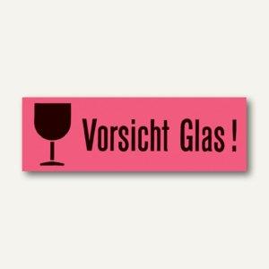 Artikelbild: Versandzettel Vorsicht Glas