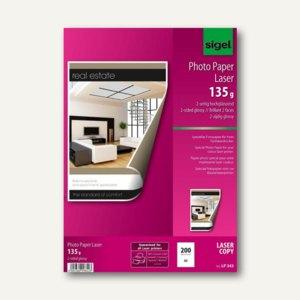 Fotopapier für Farb-Laser