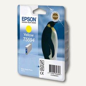 Epson Tintenpatrone T5594, gelb, C13T55944010