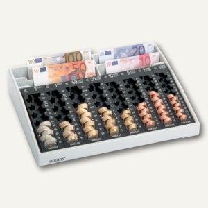 Kassenkombi REKORD 84 PL, 8 Münz-/4 Scheinfächer, 35 x 27,5 x 7 cm, 300840110079