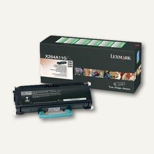 Lexmark Rückgabe-Tonerkassette, schwarz, X264A11G