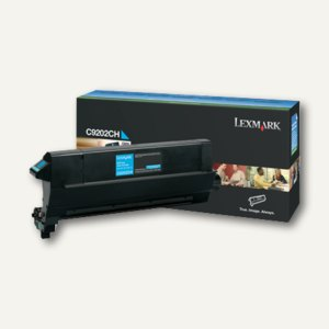 Lexmark Toner cyan, C9202CH