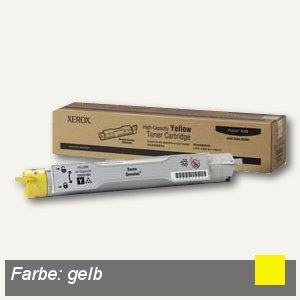 Xerox Toner gelb hohe Kapazität ca. 7.000 Seiten, 106R01084