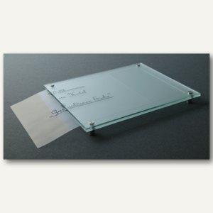 Laserfolie A4 für Zuschnitt Beschriftung Glasschilder
