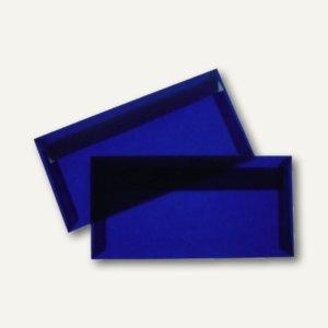 Briefumschlag DIN lang, haftklebend, 100 g/m², transparent-blau, 100 St.
