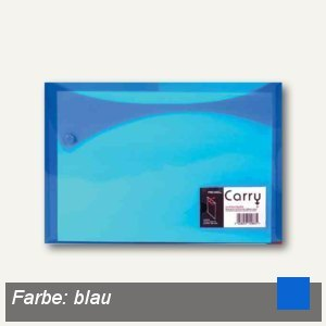Rexel Carry Xtra Folder, DIN A4, blau, 25er Pack, 2101160