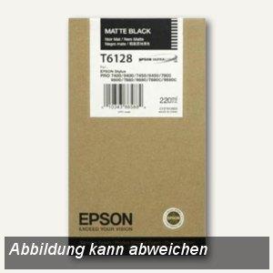 Epson Tintenpatrone Stylus Pro 7400/7800, matt-schwarz, 220 ml, C13T612800
