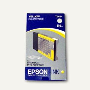 Epson Tintenpatrone für Stylus Pro 7800, gelb, 110 ml, C13T602400