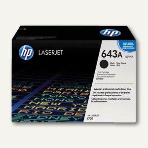 HP Toner Nr. 643A - ca. 11.000 Seiten, schwarz, Q5950A