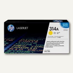 HP Toner 314A, gelb - ca. 3.500 Seiten, Q7562A