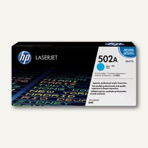 HP Toner Nr. 502A, cyan - ca. 4.000 Seiten, Q6471A