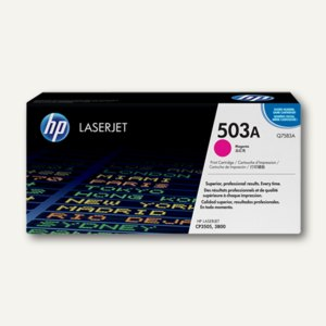 HP Toner Nr. 503A, ca. 6.000 Seiten, magenta, Q7583A
