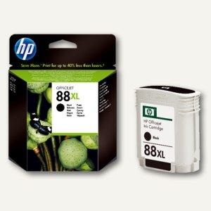 HP Tintenpatrone Nr.88, schwarz, hohe Kapazität, C9396AE