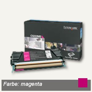 Artikelbild: C52X Toner magenta - ca. 3.000 Seiten
