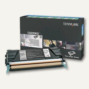 Lexmark C52X Rückgabe-Toner schwarz - ca. 4.000 Seiten, C5220KS
