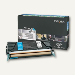 C52X Rückgabe-Toner cyan - ca. 4.000 Seiten