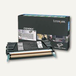 Lexmark C524 Rückgabe-Toner schwarz - ca. 8.000 Seiten, C5240KH