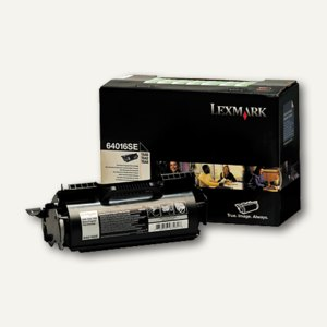 Lexmark Toner schwarz prebate - ca. 6.000 Seiten, 64016SE