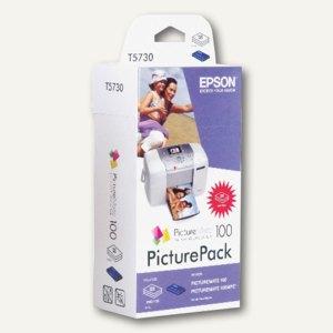Picture-Pack, Tintenpatrone + 135 Blatt Photopapier 10 x 15 cm, C13T57304010