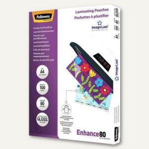 Fellowes Laminierfolientasche, DIN A4, glänzend, 160 my, 100 Stück, 5306114