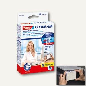 Tesa Feinstaubfilter Clean Air, weiß, Größe M (140 x 70 mm), 50379-00000-00
