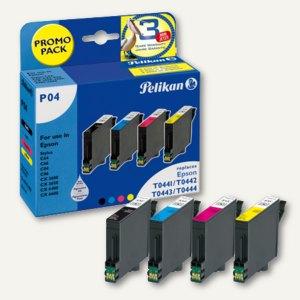 P04 Tintenpatronen-Bundle Bk