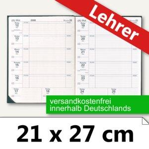 """Quo Vadis Lehrerkalender """"Magister"""" 21 x 27 cm, 1 Woche/1 Seite, schwarz,626004Q"""