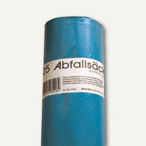 Neotén Abfallsäcke 120 Liter, 700x1.100 mm, LDPE-Folie, 40 my, blau, 25St., 3228