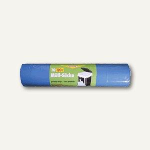 Neotén Abfallsäcke 120 Liter, 700x1.100 mm, LDPE-Folie, 40 my, blau, 10St., 3229
