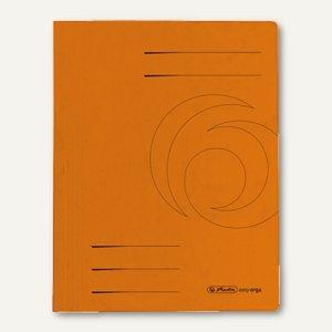 Herlitz Schnellhefter easyorga DIN A4, 355 g/m² Karton, orange, 11094687