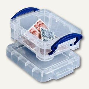 Aufbewahrungsbox 0.07 Liter, 90 x 65 x 30 mm, transparent, 0,07C