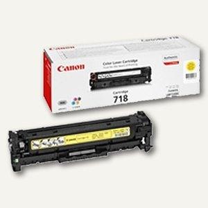 """Canon Lasertoner """"718BK"""", ca. 3.400 Seiten, schwarz, 2662B002"""
