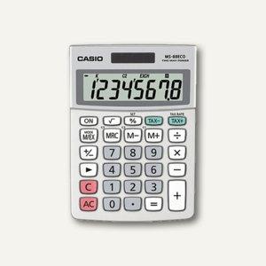 Casio Tischrechner, 8-stellig, Solar- & Batteriebetrieb, MS-88ECO