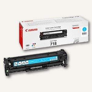 "Canon Lasertoner ""718C"", ca. 2.900 Seiten, cyan, 2661B002"