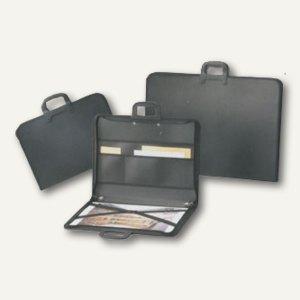 Rumold Zeichentasche, für DIN A3, 470x30x350mm, schwarz, 6 St., 372813