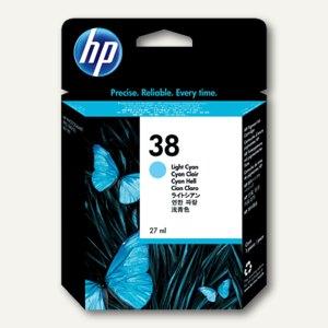 HP Tintenpatrone Nr.38 hell-cyan, C9418A