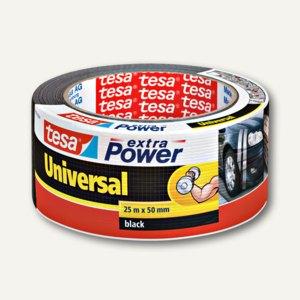 "Tesa Klebeband ""Extra Power Universal"", 50 mm x 25 m, schwarz, 56388-00001-07"