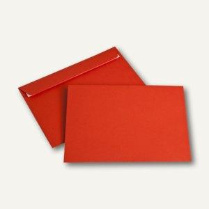 Briefumschlag DIN C5, 100 g/m², haftklebend, intensivrot, 250 Stück