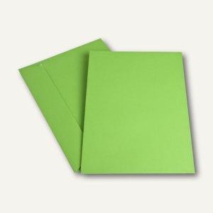 Versandtasche DIN C4, haftklebend, 120 g/m², intensivgrün, 200 Stück, 2058162