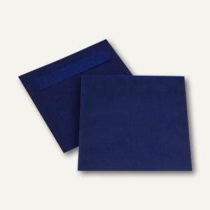 Briefhüllen haftklebend, 170 x 170 mm, transluzent-intensivblau, 500 St.