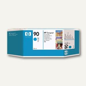 HP Tintenpatrone Nr. 90, cyan, 225 ml, C5060A