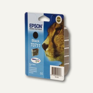 Epson Tintenpatrone T0711, schwarz, C13T07114011
