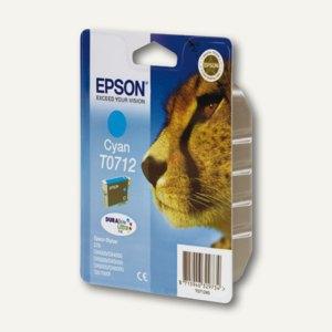 Epson Tintenpatrone T0712, cyan, C13T07124011