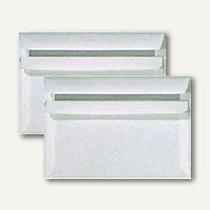 officio Briefumschlag C6 o. Fenster, 80 g/m², selbstkl., weiß, 1000 St., 24051X