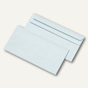 Briefumschlag DIN lang, ohne Fenster, selbstklebend, weiß, 1000 St./Pa