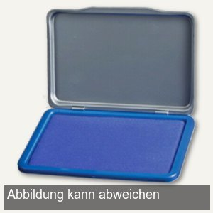 officio Stempelkissen Größe 2, blau, Kunststoff, 7 x 11 cm