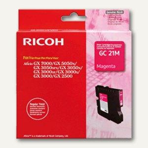 Ricoh GC-21M Gelkartusche magenta - ca. 1.000 Seiten, 405534