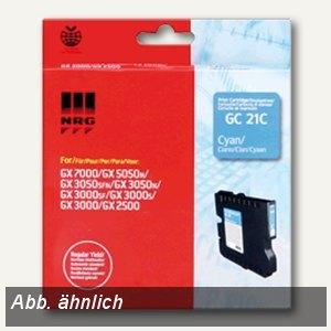 Ricoh GC-21CH Gelkartusche cyan - ca. 2.300 Seiten, 405537