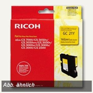 Ricoh GC-21YH Gelkartusche gelb - ca. 2.300 Seiten, 405539