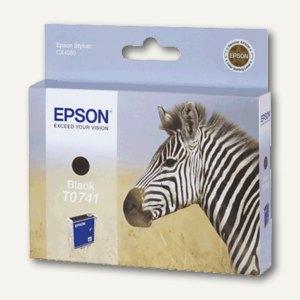 Epson Tintenpatrone schwarz, C13T07414010